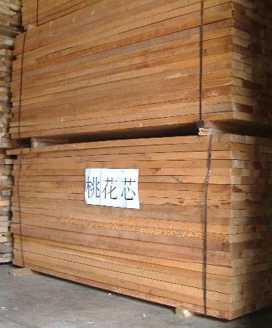 桃花芯价格-中国木材网:非洲进口木枋价格行情