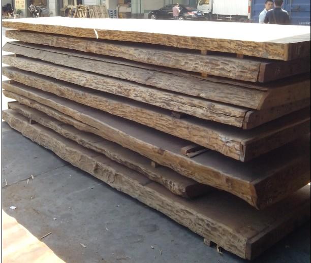 缅甸花梨原木大板--板材原木
