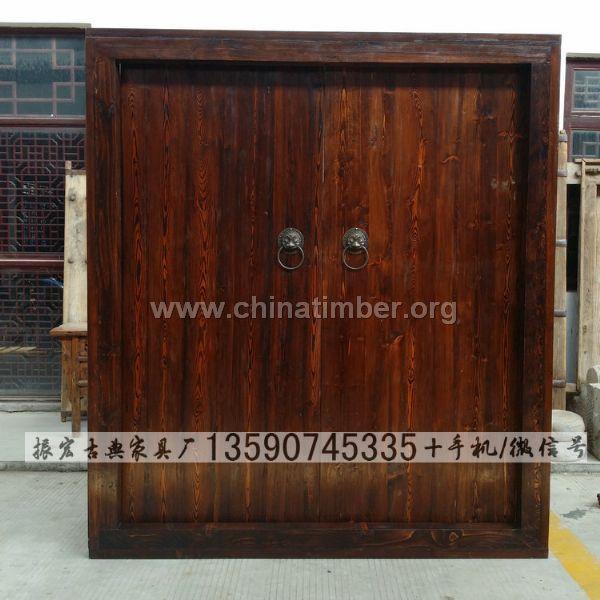 中式大门--木门_产品图片信息