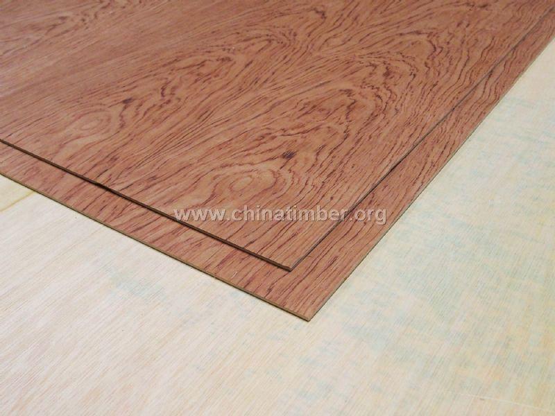 4厘天然木皮山纹花梨木饰面板