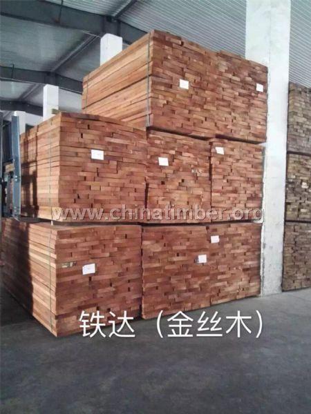 铁达(金丝檀木)--板材原木_产品图片信息_中国木材网!
