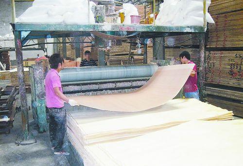 生产的e1级细木工板甲醛释放