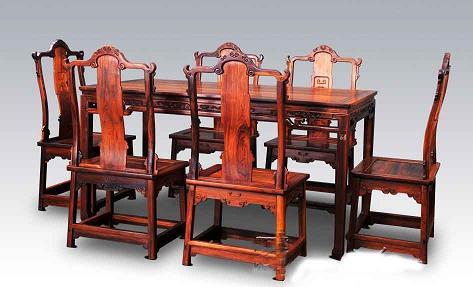 发现省城红木家具市场存在较多问题